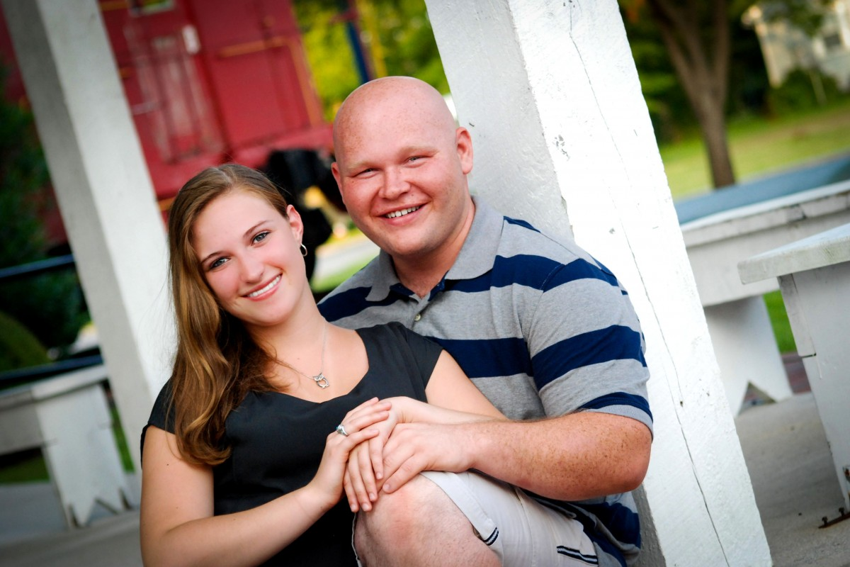 Jacksonville North Carolina Couple Photographer