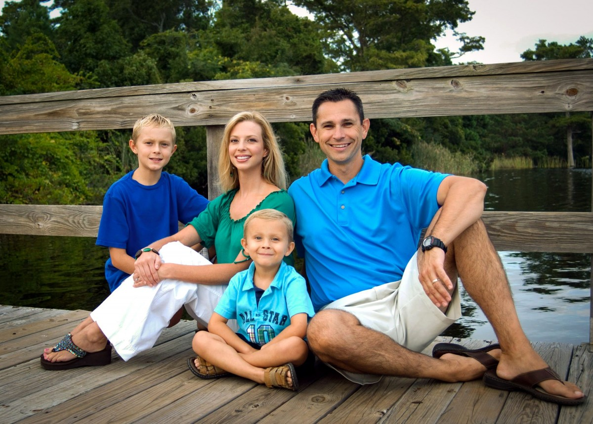 Jacksonville North Carolina Family Photographer